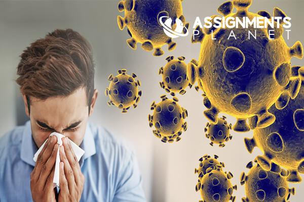 Corona Virus Attack in Big City